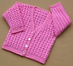 Ravelry: Childs Lacey Cardigan Patt No.192 pattern by Kay Jones