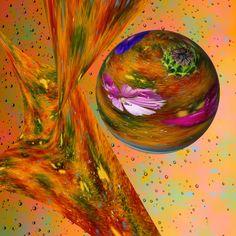 Abstract - Summer by Petras Paulauskas Display Advertising, Print Advertising, Summer Colors, Green Colors, Digital Collage, Digital Art, Summer Captions, Retail Merchandising, Summer Photos