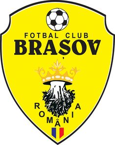 Fotbal Club Brașov | Country: România / Romania. País: Rumanía. | Founded/Fundado: 1936 | Badge/Crest/Logo/Escudo.