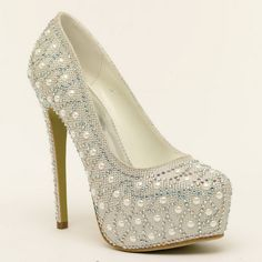 Wedding, Quinceanera, or Ball she's gonna look great in this... Love this shoe www.FURYkix.com