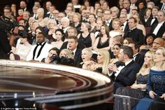 A photo has surfaced showing the stunned faces of Matt Damon, Meryl Streep, Dwayne 'The Ro...