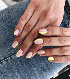 97 Wonderful Over-the-top Nail Art Ideas to Try This Summer, Summer Nail Art Designs for A Fun Trendy Manicure Cheap Things to Do This Summer, 4 Spring Nails Trends that are In for Summer Nail Art Designs for A Fun Trendy Manicure Spring Nails, Summer Nails, Nail Ideas For Summer, Nail Colors, Color Nails, Funky Nails, Minimalist Nails, Dream Nails, Us Nails