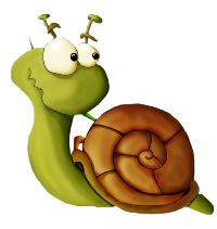 Clip Art Pictures, Pictures To Paint, Cartoon Drawings, Cute Drawings, Snail Art, Cute Clipart, Drawing Projects, Cartoon Design, Cute Illustration