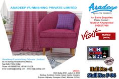 Asadeep Furnishing Private Limited is a leading Sofa Fabric Manufacturer in India and a best online Shopping store to purchase Sofa Fabrics and Designer Curtain Fabrics Online at highly reasonable rates.