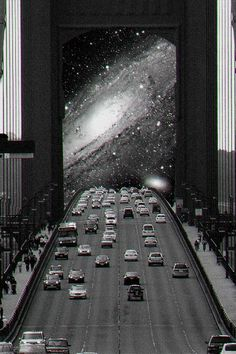 black and white collage Psychedelic Art, Photomontage, Image Digital, Retro Futurism, Photo Manipulation, Collage Art, Collages, Soul Collage, Oeuvre D'art