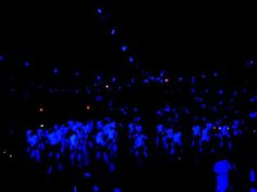 Milpitas High School Homecoming Rally 2011 - Party Rock Anthem (Blacklight Glow-In-The-Dark Dance)