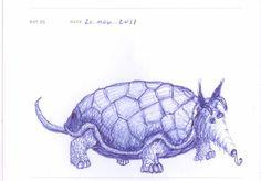 Doodle 025: Hermit Anteater