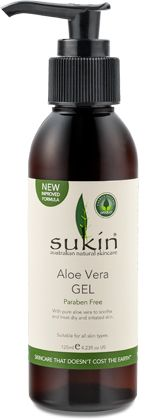Aloe Vera Gel (125ml)  New, improved formula! A gel based product with pure aloe vera for soothing irritated or inflamed skin.  A pure a...