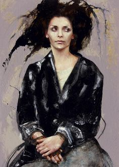 Afbeeldingsresultaat voor ARMY OF POETS, solo exhibition Opera Gallery Paris, France - Lita Cabellut Portraits, Portrait Art, Spanish Painters, Figurative Art, Mixed Media Art, Great Artists, Female Art, Art Images, Art History