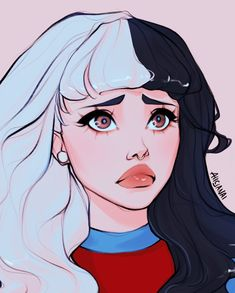 Melanie Martinez Anime, Melanie Martinez Drawings, Crybaby Melanie Martinez, Cute Art Styles, Cartoon Art Styles, Drawing People, Aesthetic Art, Cute Drawings, Art Inspo