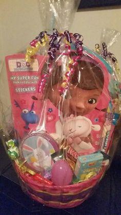 Dr McStuffins Easter Basket