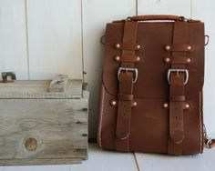 No.12 Rucksack (vintage brown)