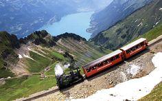 Brienzer Rothorn Bahn in Switzerland