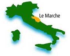 Карта региона Марке