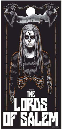 The Lords of Salem Rob Zombie Art, Rob Zombie Film, Zombie Movies, Halloween Movies, Scary Movies, Monster Horror Movies, Best Horror Movies, Horror Films, Salem Movie