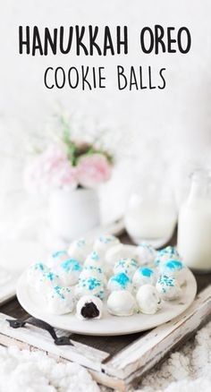 It's no secret that you're known for your delicious desserts. What is a secret though, is that these Hanukkah OREO Cookie Balls don't require any baking! Great for adding a festive touch to your party menu—or even better when given as homemade edible gifts—there are so many yummy reasons to enjoy this celebratory treat during the holiday season. Plus, you can find all the ingredients you need at Walmart!