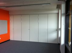 dramatic sliding doors separate. Sliding Folding Partition, Wall Installed To Separate Two Rooms. Dramatic Doors