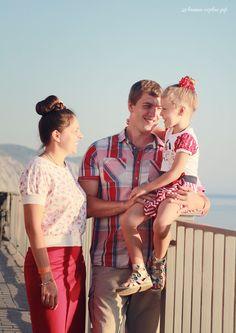 Семейная фотосессия у моря