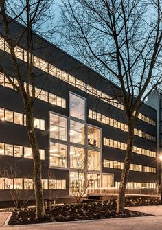 Studioninedots has renovated a 1970s office building in Hilversum.