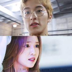 NCT/Red Velvet — characters mark & yura [  irene ] : akko's glasses  Harry Potter [ AU ]
