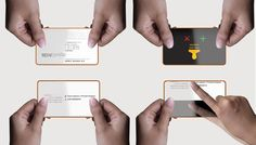 Business Cards of the Future