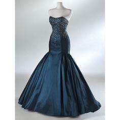 Custom make A-line ball gowns taffeta Dress Bridesmaid Dress Evening... ($178) found on Polyvore