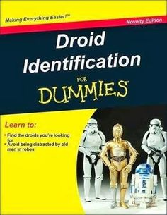Droid Identification for Dummies