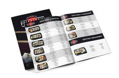 nayma.pl - projektowanie stron www Krasnystaw Chełm Zamość Lublin - projekt folderów reklamowych dla restaracji Pałeczkami Sushi