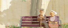 El Fin. Bonita história, com uma linda direção de arte. Clicar pra assistir.