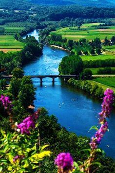 River Lune, Lancaster, England, UK