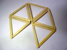 DIY Project: Popsicle Stick Icosahedron