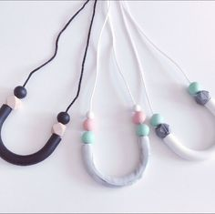 ***INTRODUCTORY OFFER*** Save £2 on this brand new, super stylish necklace. You wouldn't even know it was designed with teething babies in mind. Glam up your wardrobe with this hot new accessory - baby not required. (Offer ends midnight Sunday 9th April)