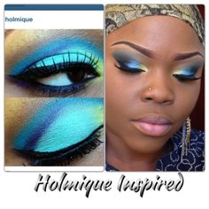 Holmique Inspired Makeup Tutorial(GET READY WITH ME)