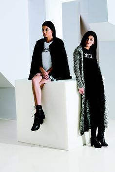 Pin for Later: Kendall Jenner's Style Is Officially the Coolest in the World She Scored Her Own Line Alongside sister Kylie, Kendall designed and modeled in her own holiday line for PacSun