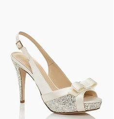 zapatos para novias de Kate Spade New York