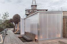 *루프탑 사우나 [ Aalto University ] Rooftop Sauna in London :: 5osA: [오사]
