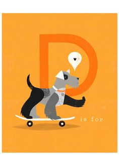 D is for Dog  Jessie Ford