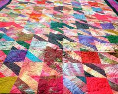 Houndstooth Quilt!  Pattern by @Cherie Killilea #studiocherie