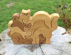Puzzle gatos rompecabezas rompecabezas animales por GCRDesigns                                                                                                                                                     Más