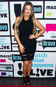 Khloe Kardashian at Watch What Happens Live, May 2013
