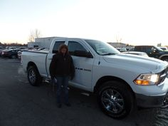 Congratulations to Cindy S. on her purchase of a new Ram 1500! We appreciate your continued business, and hope you enjoy your new truck!
