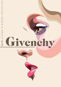 Givency Illustrations by Matt Edwards - killer-inspiration