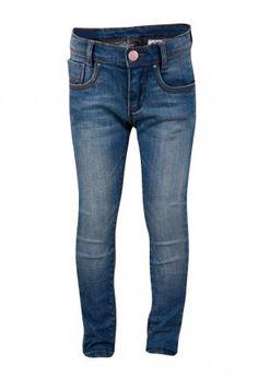 Blauwe jeans 'skinny'