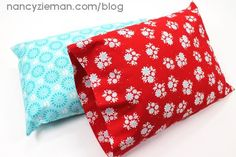 How to Sew and Donate a Travel Pillowcase by Nancy Zieman | Sewing With Nancy | Sewing Outreach | Stitch It Forward