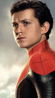 Peter Parker, Spider-Man Far From Home, Tom Holland, Wallpaper Spiderman Drawing, Spiderman 3, Marvel Universe, Tom Holland Imagines, Men's Toms, Tommy Boy, Baby Daddy, Portrait Photo, Tony Stark