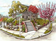 queen anne house   by Steven B. Reddy
