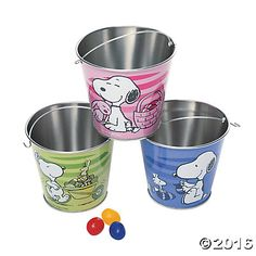Peanuts® Easter Pails