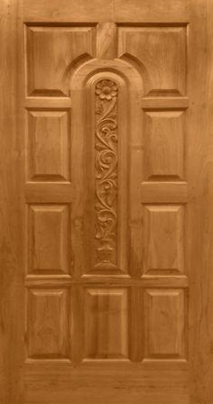 Teak Wood Carving Design Door online India from Indian vendors at RollingLogs. We engaged in manufacturing Burma TeakWood Door in beautiful designs and in al Wooden Front Door Design, Main Entrance Door Design, Double Door Design, Wood Front Doors, Bedroom Door Design, Door Design Interior, Indian Main Door Designs, Pooja Door Design, Door Design Images