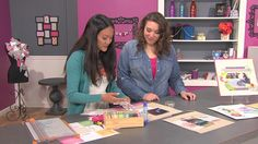 Watch Scrapbook Soup crafting videos :-)