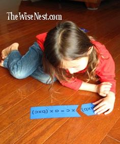 puzzle and song to memorize the associative law for addition and multiplication